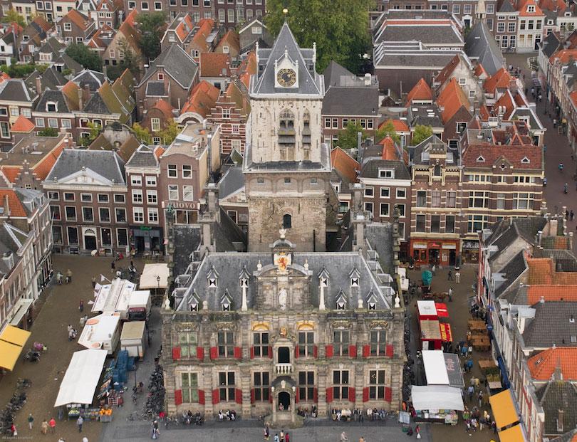 تالار شهر دلفت - جاهای دیدنی هلند