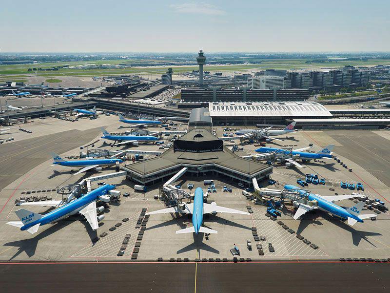 تصویر فرودگاه آمستردام