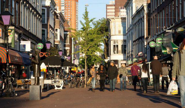 خیابان Nieuwe Binnenweg - مراکز خرید روتردام
