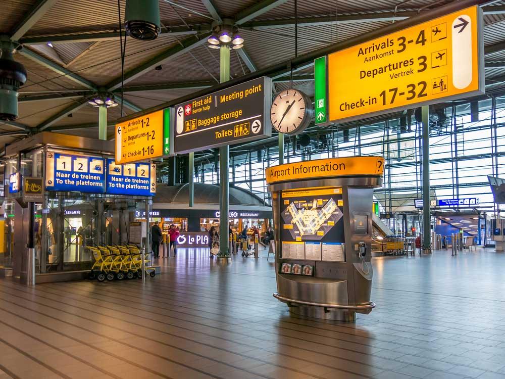 فضای داخلی فرودگاه