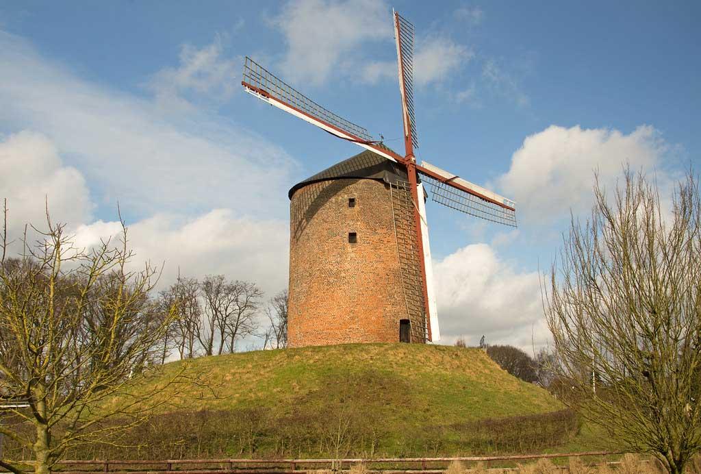 قدیمیترین آسیاب بادی هلند