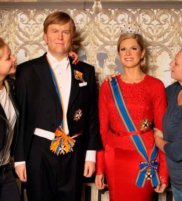 مجسمه خاندان سلطنتی هلند