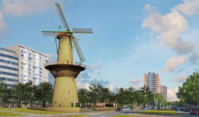 مرتفعترین آسیاب بادی هلند