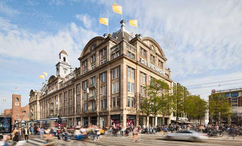 مرکز خرید Bijenkorf - مراکز خرید آمستردام