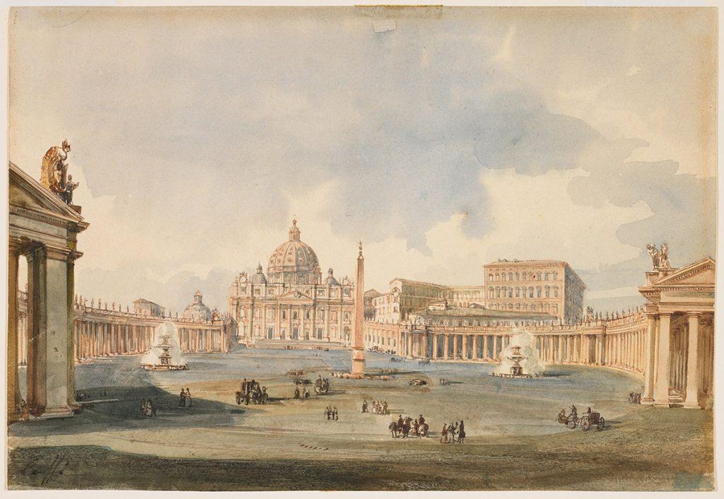 تاریخچه میدان سن پیترو