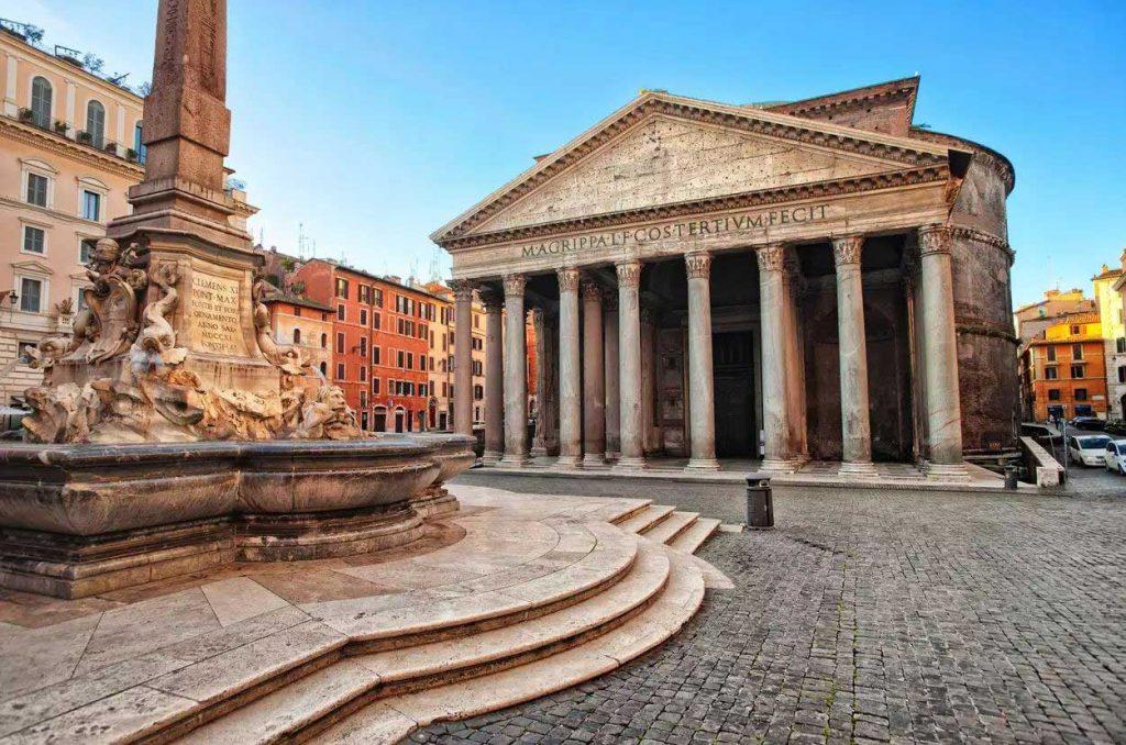 تاریخچه پانتئون رم