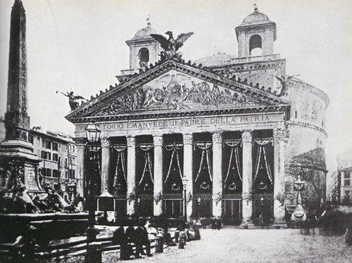 تصویر قدیمی از پانتئون