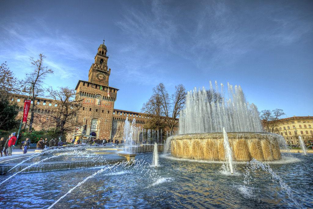 قلعه اسفورزا - دیدنیهای میلان