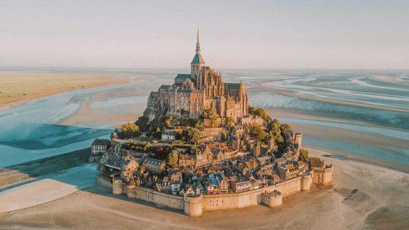 مونت سن میشل، قلعهای جادویی در شمال فرانسه