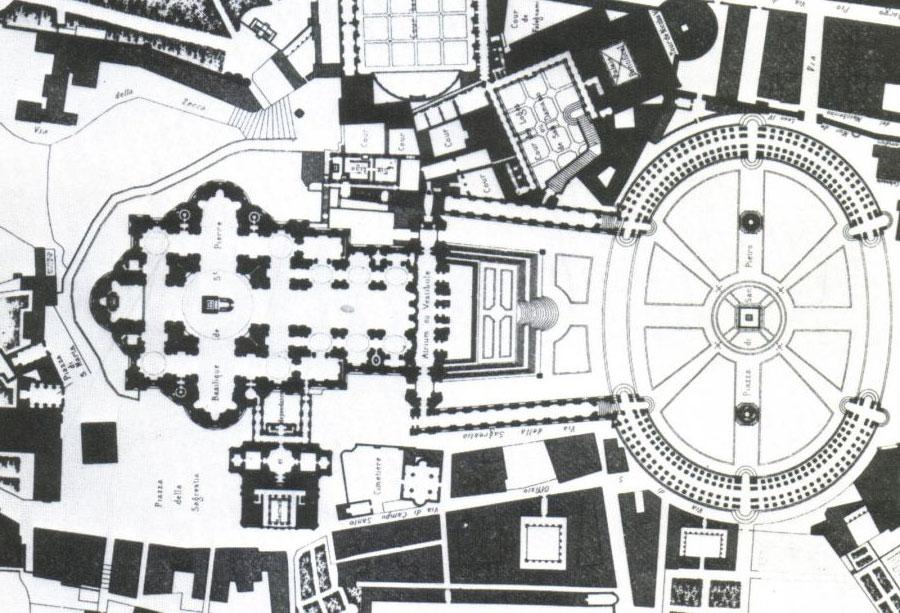 پلان میدان سن پیترو