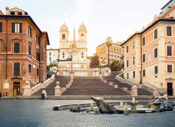 پلههای اسپانیایی، میعادگاه عاشقان در شهر رم ایتالیا
