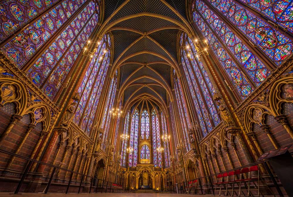 آشنایی با کلیسای سنت شاپل پاریس