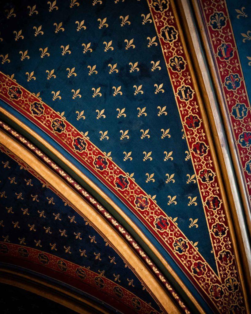 بازدید از کلیسای سنت شاپل پاریس