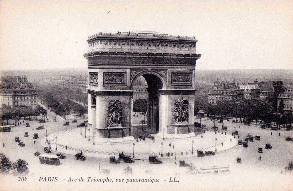 تاریخچه طاق پیروزی پاریس