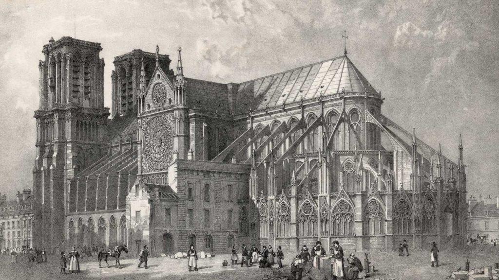 تاریخ کلیسای نوتردام پاریس