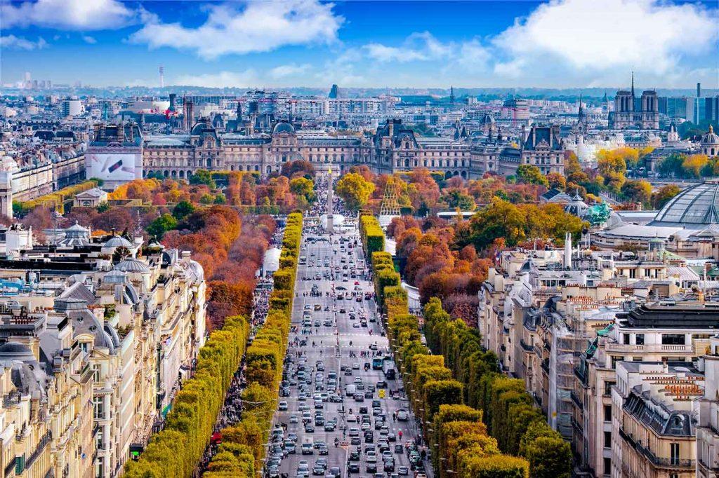 تفریحات و جاذبههای گردشگری اطراف خیابان شانزلیزه پاریس