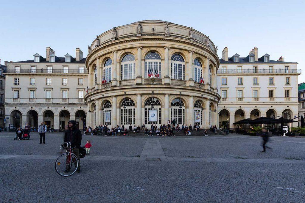 جغرافیا و آب و هوای شهر رن فرانسه