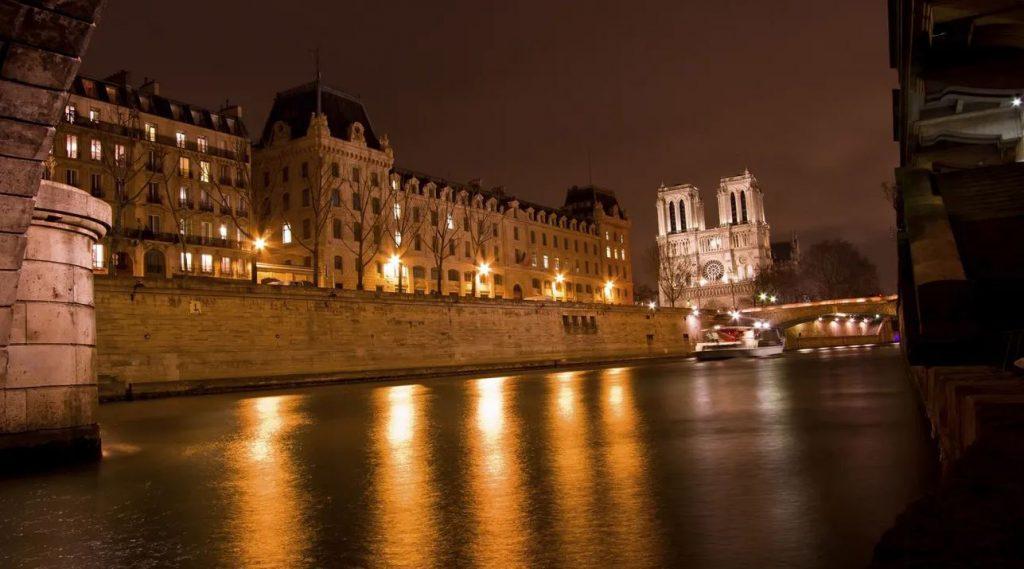 رود سن پاریس در شب - شبهای پاریس