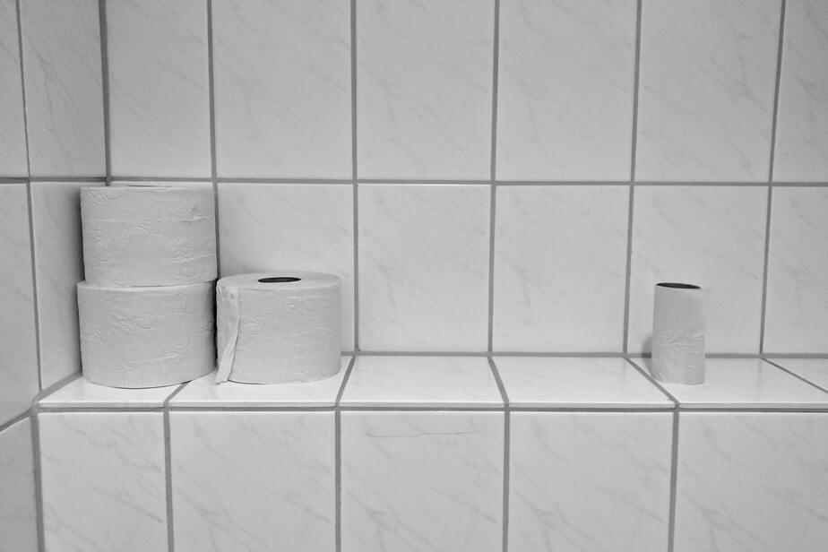 روی دستمال توالت چک بنویسید!