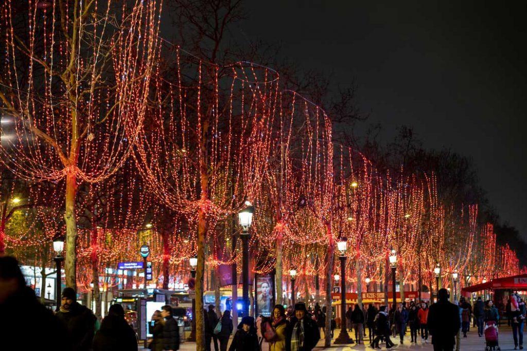 زیباترین محلات در شبهای پاریس