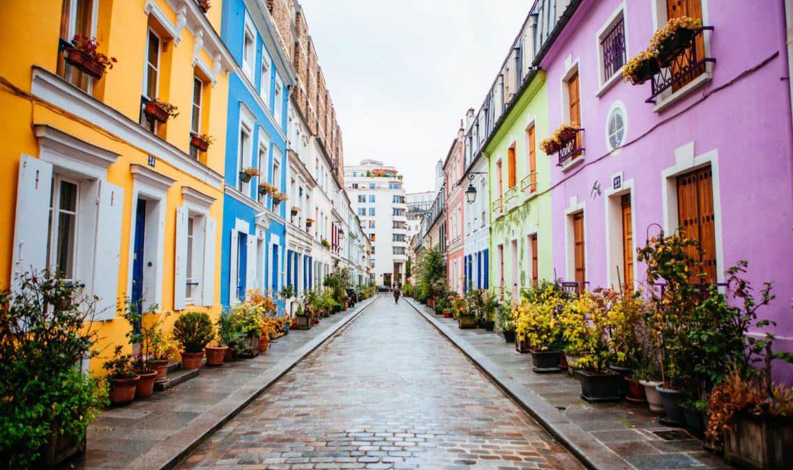 زیباترین محلهها و خیابانهای پاریس فرانسه