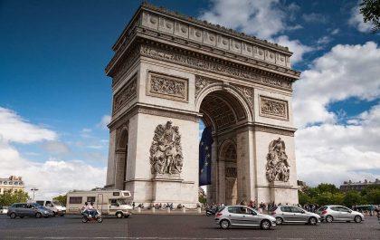 طاق پیروزی پاریس، نماد شکوه و اقتدار فرانسه