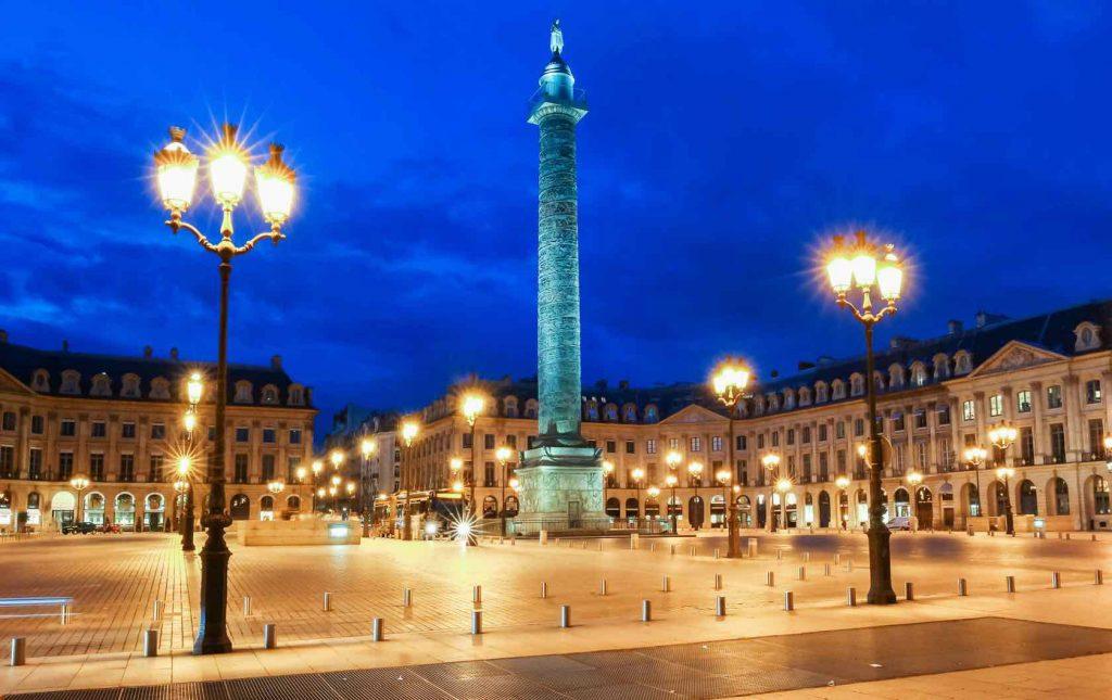 میدان وندوم - میدانهای پاریس
