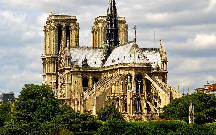 کلیسای نوتردام پاریس - جاهای دیدنی پاریس
