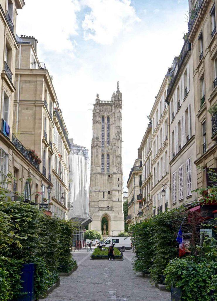 Rue Nicolas Flamel - خیابانهای پاریس