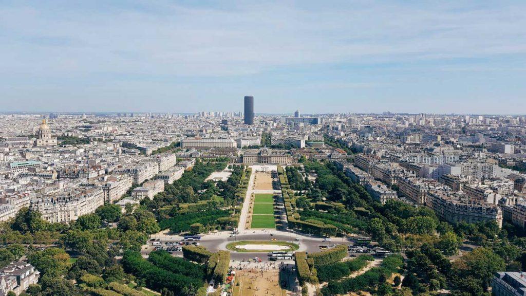 بازدید از باغ تویلری پاریس