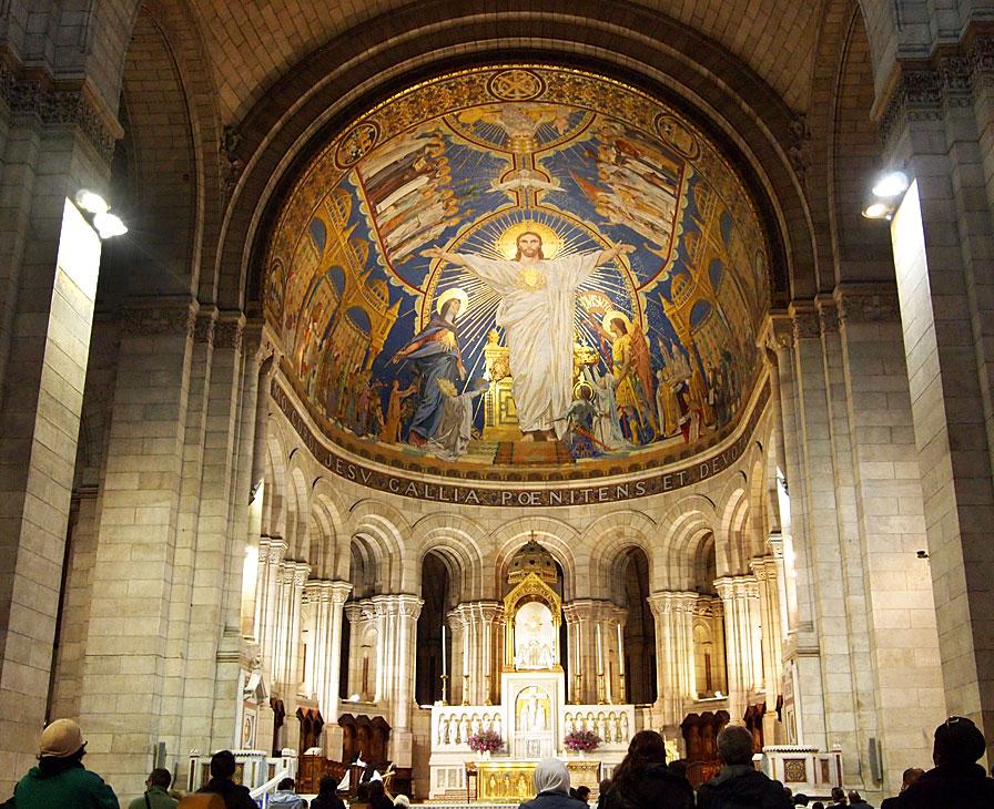 بازدید از کلیسای سکره کر پاریس