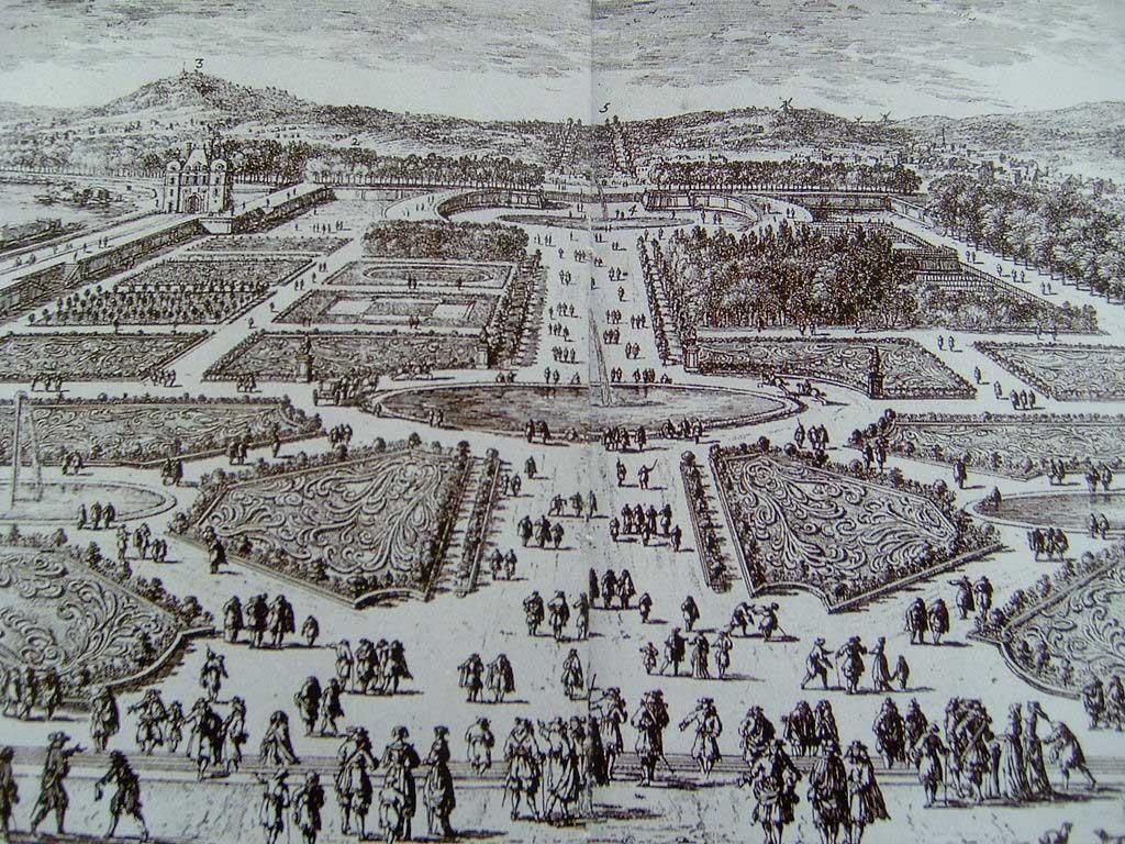 تاریخچه باغ تویلری پاریس