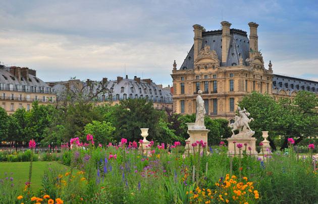 درباره باغ تویلری پاریس