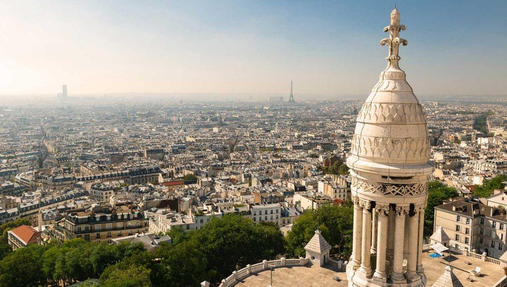 منظره پاریس