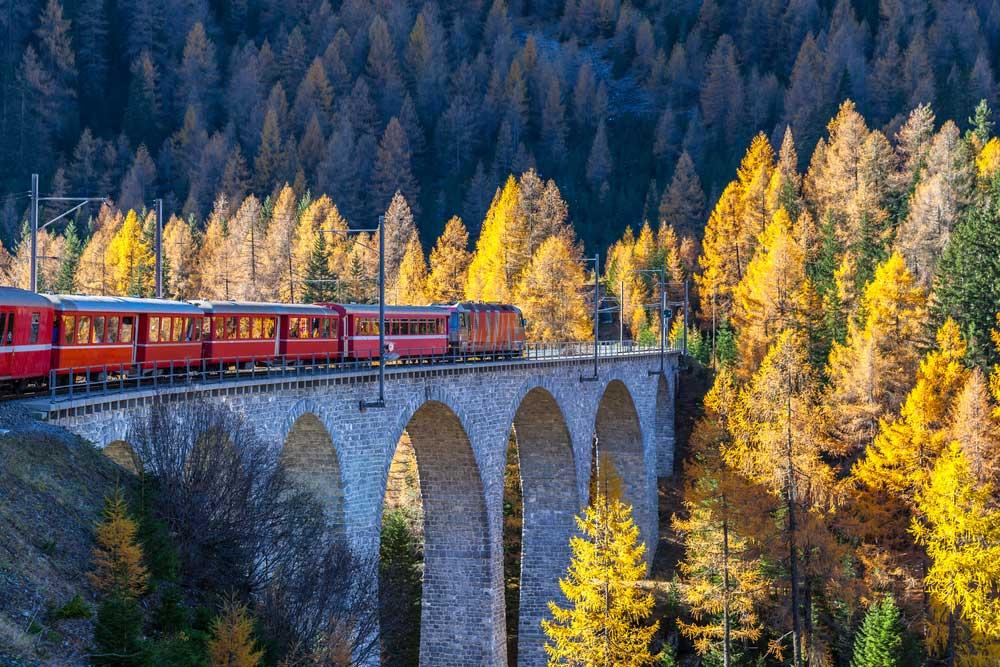 آب و هوای پاییز سوئیس