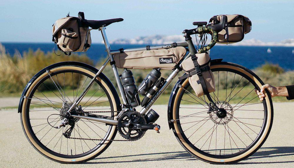 انواع کیف لوازم سفر با دوچرخه