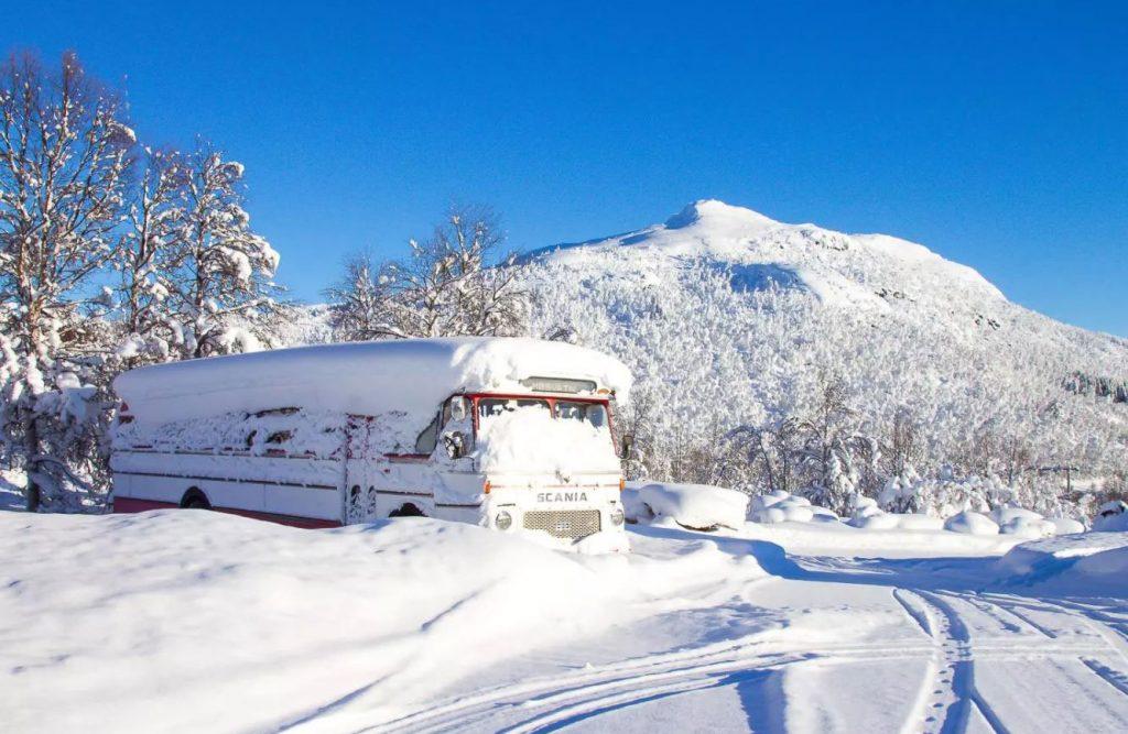دسترسی کمتر -زمستان نروژ