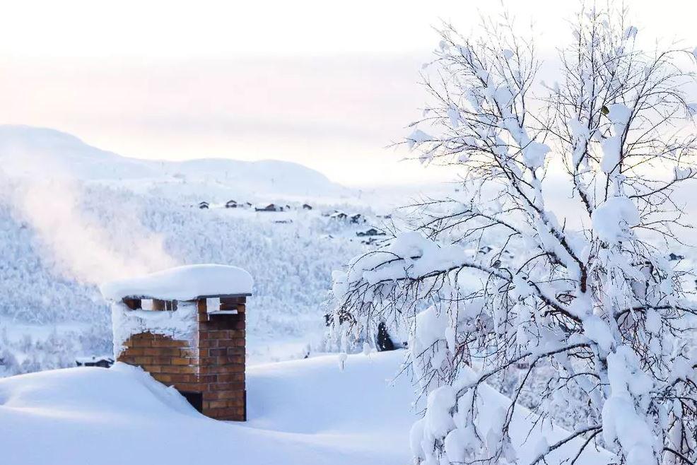 مناظر برفی زیبا - زمستان نروژ