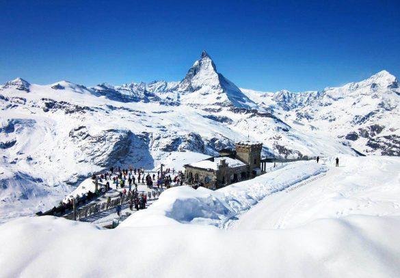 6 مکان شگفت انگیز برای لذت بردن از زمستان سوئیس