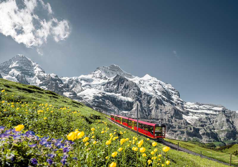 آب و هوای سوئیس در تابستان