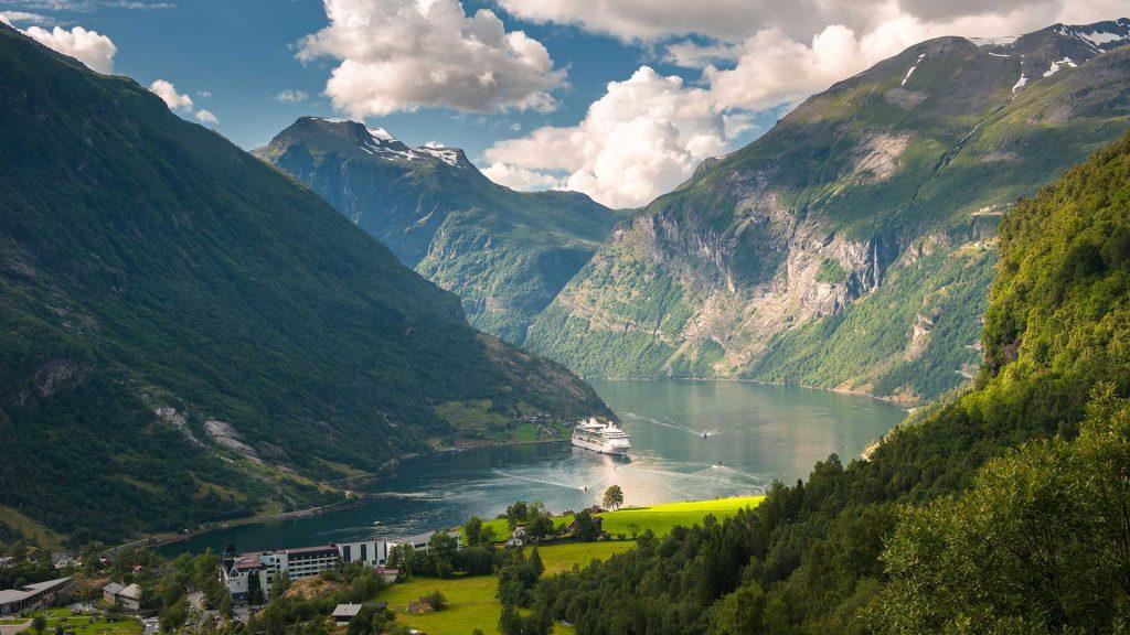 آب و هوای نروژ در تابستان
