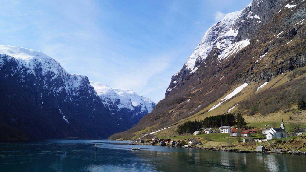 آب و هوای نروژ در پاییز