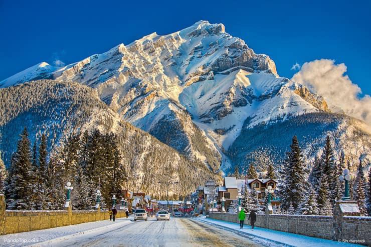 بنف کانادا - مقصد مسافرت خارجی در زمستان
