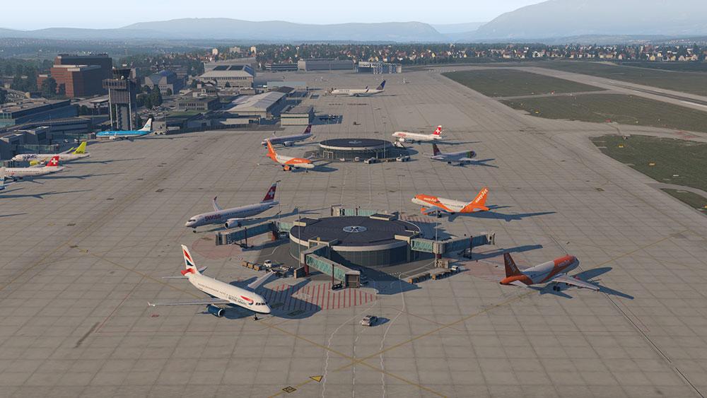 تاریخچه فرودگاه ژنو سوئیس