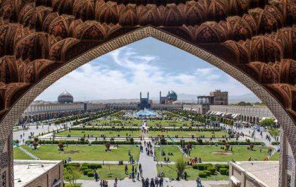 زیباترین جاهای دیدنی اصفهان در پاییز