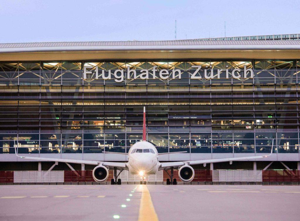 فرودگاه زوریخ - فرودگاههای سوئیس