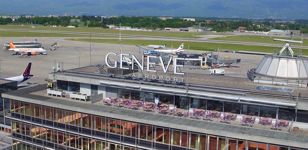فرودگاه ژنو