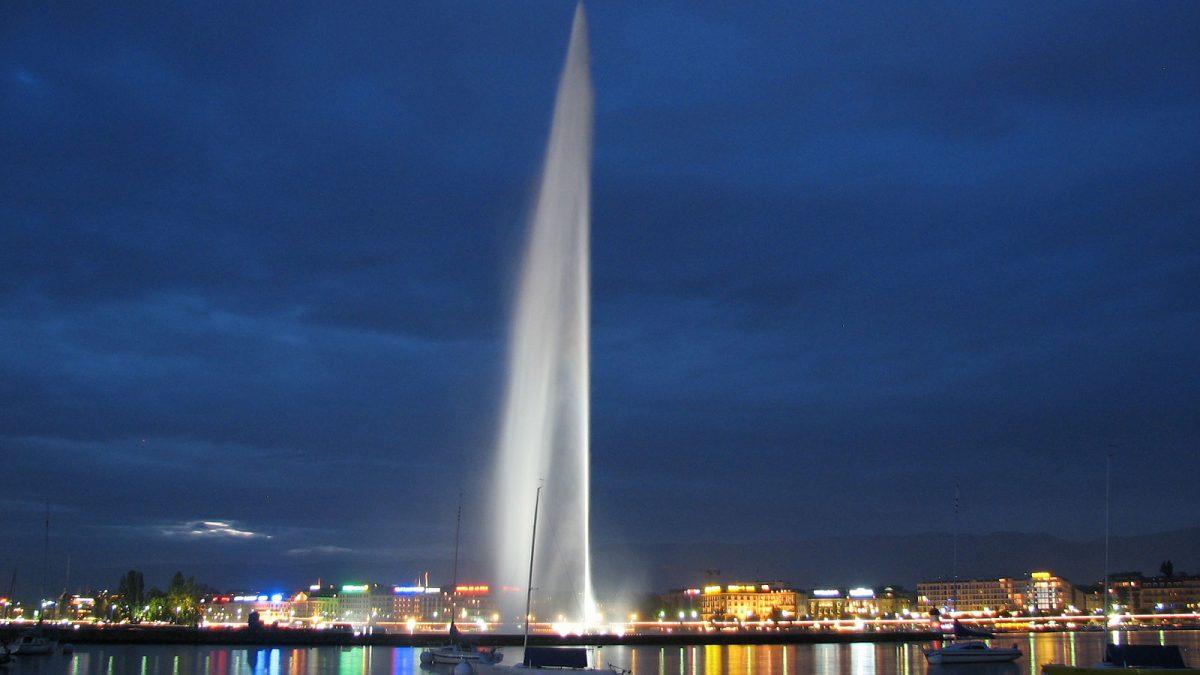 فواره آبی ژنو، تلاقی طبیعت و مهندسی