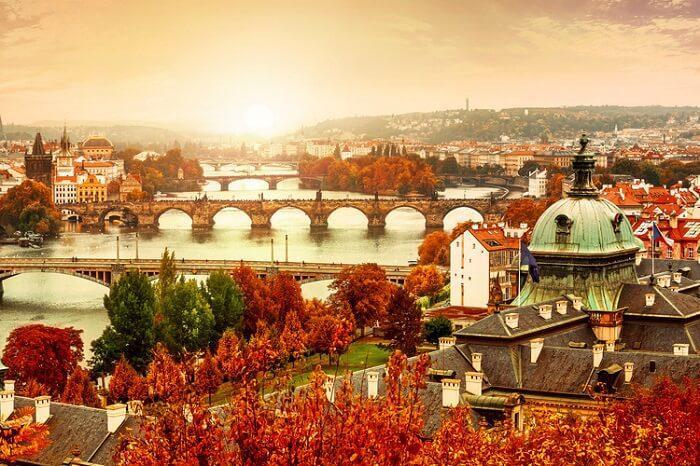 پراگ جمهوری چک - پاییز در اروپا