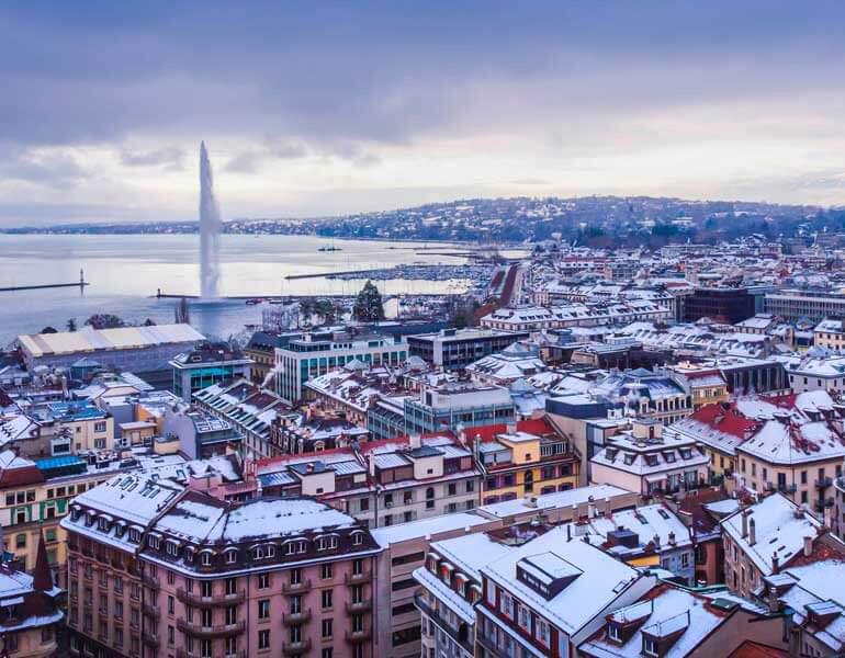 بهترین زمان سفر به ژنو سوئیس